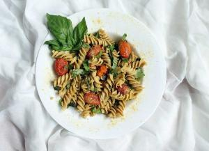 Barley_Pasta_With _Cherry_Tomatoes