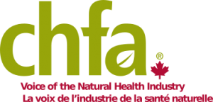 Logo of the Canadian Health Food Association.